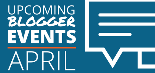 Blogger Events in April