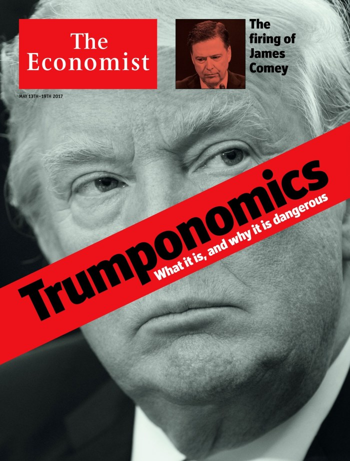 The Economist 'Trumponomics Cover'