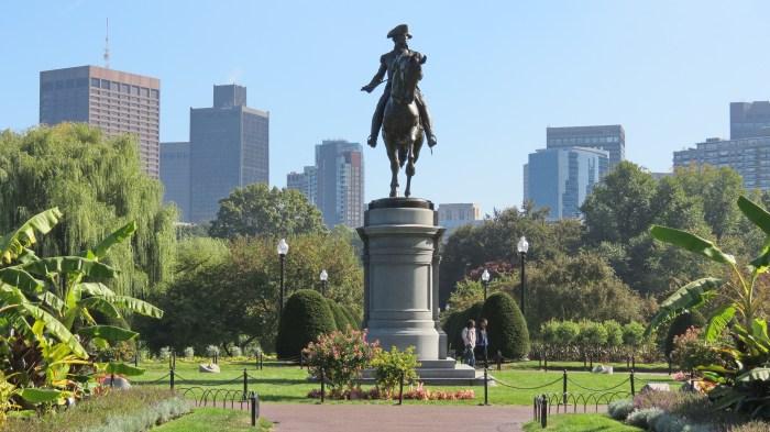 Boston Public Garden, Massachusetts, United States