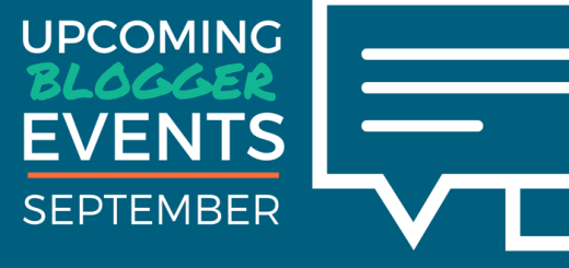 September Blogger Events
