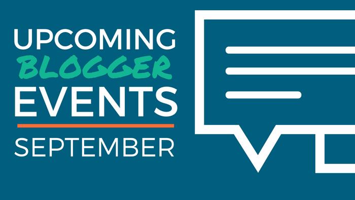 September Blogger Events