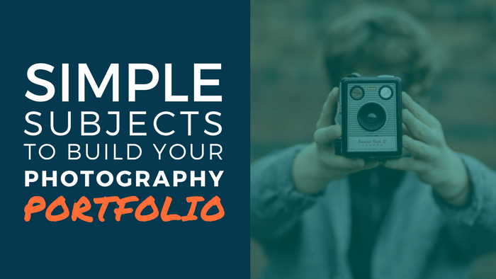 Subjects for new photographers