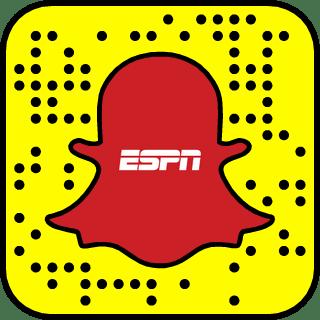 ESPN SportsCenter on Snapchat