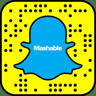 Mashable on Snapchat