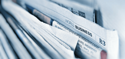 Newspaper World Business section
