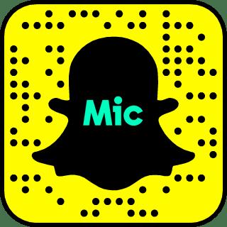 Mic on Snapchat