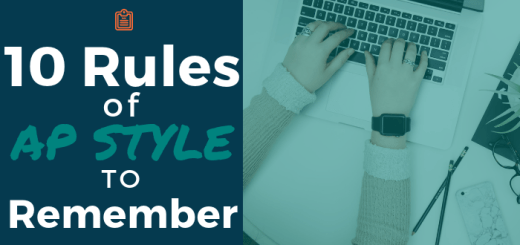 10 Rules of AP Style to Remember