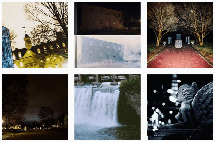 Six recent posts from @colonialghosts on Instagram