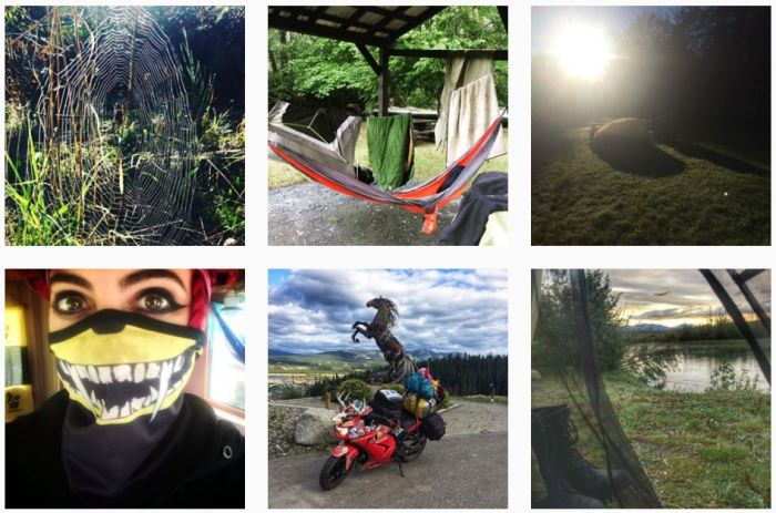 Six recent posts from @vagabondesss on Instagram