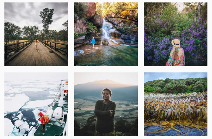 Travel News Sites: @youngadventuress on Instagram