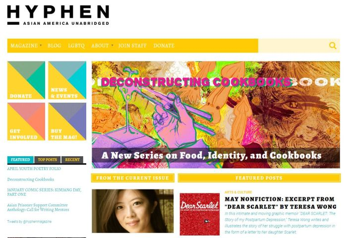 Top Asian American News Sites: Hyphen
