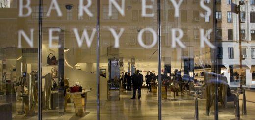 Barneys New York storefront