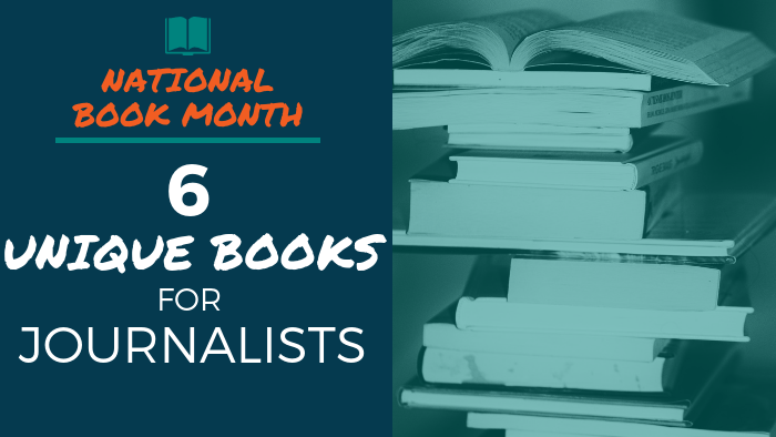 National Book Month - 6 Unique Books for Journalists