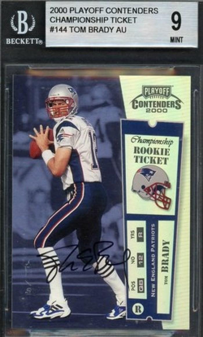 eBay Tom Brady Card