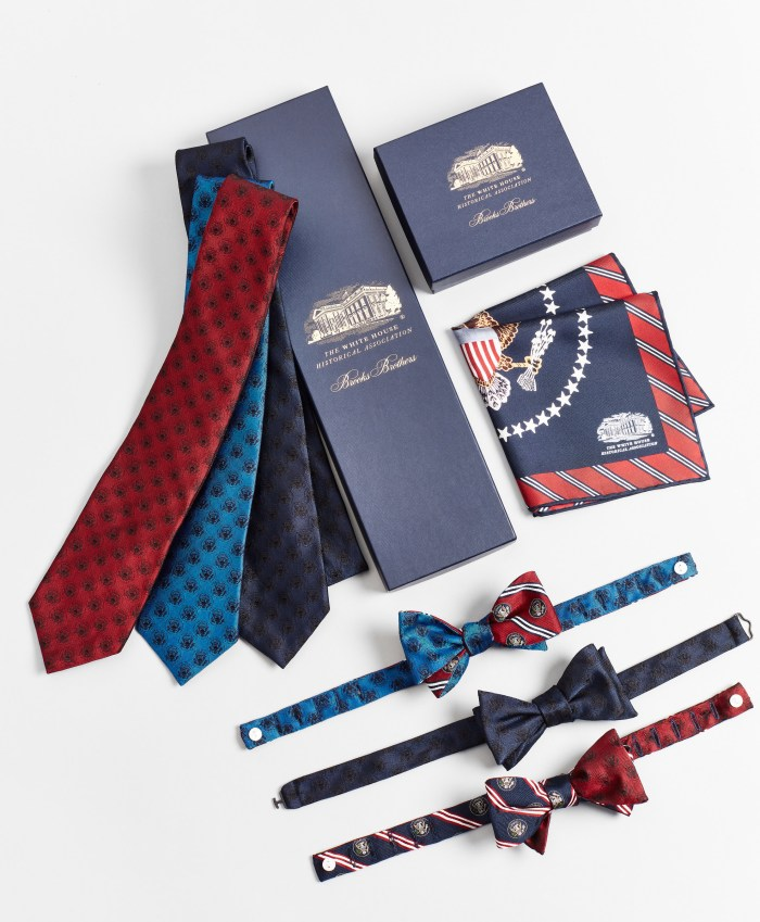 White House Historical Association and Brooks Brothers tie/bow-tie collection