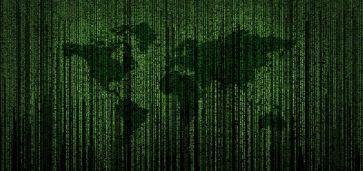 Media Insider - March 13 2020 - Image of a world map overlaid with computer code