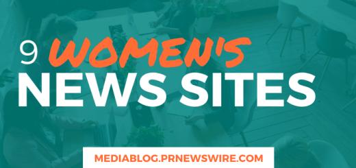 9 Women's News Sites - mediablog.prnewswire.com