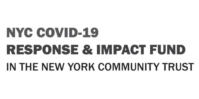 NYC COVID-19 Response & Impact Fund in the New York Community Trust