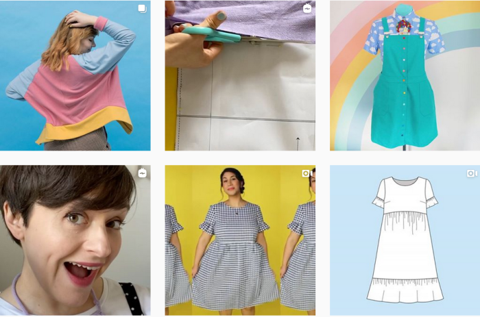 Sewing Blogs We Love - @tillybuttons on Instagram