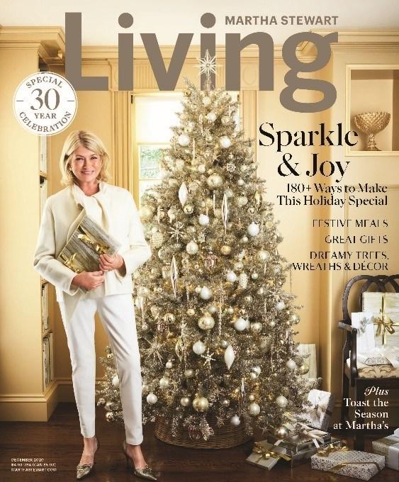 Martha Stewart Living, 30 Year Anniversary magazine cover