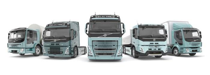 Volvo electric truck fleet
