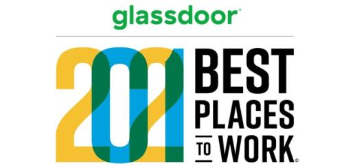 Glassdoor 2021 Best Places to Work logo