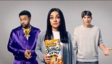 Cheetos Crunch Pop Mix Super Bowl commercial with Shaggy, Mila Kunis, Ashton Kutcher