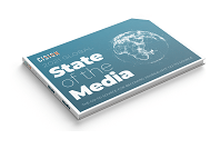 Cision 2021 State of the Media Report mockup