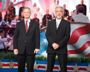 Memorial Day Concert hosts Gary Sinise and Joe Mantegna
