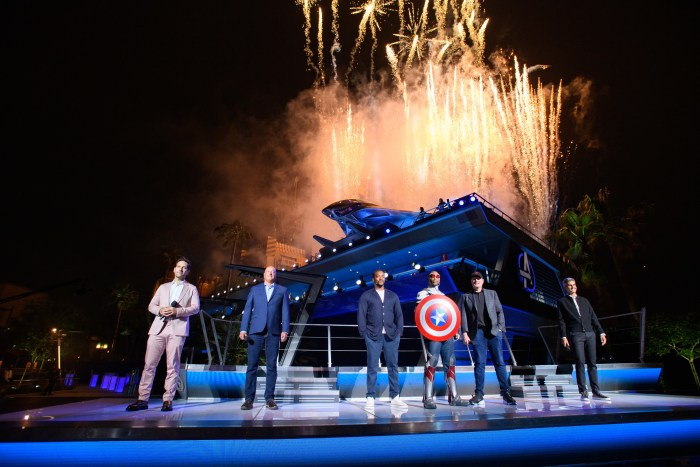 Avengers Campus event at Disney California Adventure Park