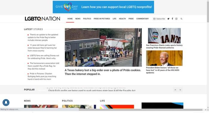 lgbtq nation news site