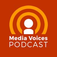 Media Voices podcast logo
