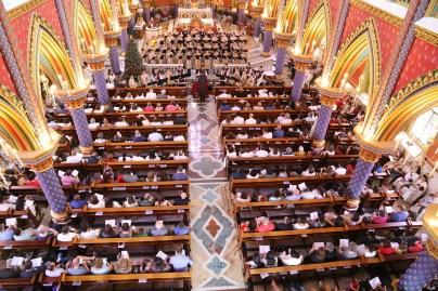 Concerto de Natal na Basílica Nossa Senhora do Rosário de Fátima, dos Arautos do Evangelho, dia 24 de Dezembro de 2017