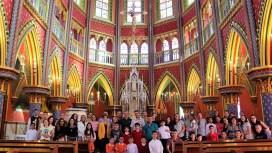 Igreja na Casa da Contemplação Marial