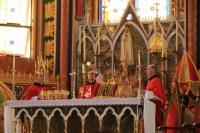 Missa Celebrada pelo fundador dos Arautos Mons. João Clá
