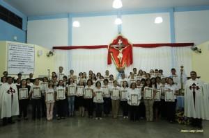 46 pessoas se consagraram a Nossa Senhora