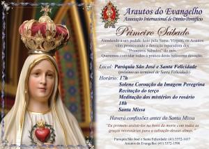 Convite primeiro sábado - Par. São José