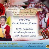 Convite - Comemoração de Dia das Mães