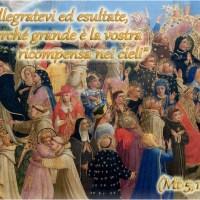 Commento al  Vangelo – Solennità di tutti i Santi