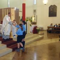 Messa di azione di grazia per il centenario delle apparizioni della Madonna a Fatima a Oriago (VE)-015
