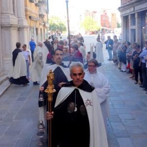 Celebrazione della Madonna del Carmine a Venezia.