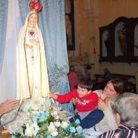 Madonna di Fatima, Pellegrina, Araldi del Vangelo, Parrocchia Santa Maria Assunta, Montemurro (PZ)-009