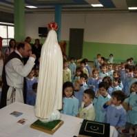 La statua della Madonna di Fatima a Venaria Reale (TO) , Araldi del Vangelo-008