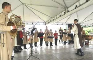 Inauguração da rua Minas Gerais