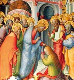 Jesus perdoa a mulher adúltera