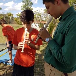 Inicialização flauta doce