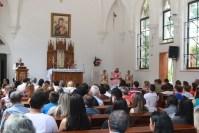 Celebrada pelo Revmo. Pe. Sebastião Alves, EP