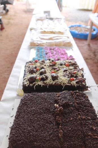 Além da feijoada, bolos, sorvetes e tortas faziam parte do menu