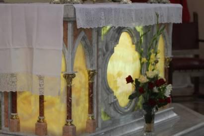 A ornamentação do altar