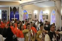Cerimônia de consagração a Jesus pelas mãos de Maria